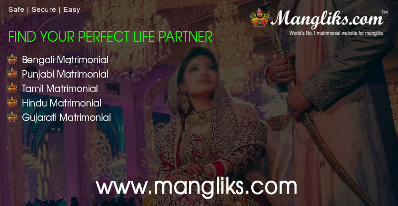 India's No. 1 Matrimonial Website For Mangliks, Top Listed Site in Nasscom in 2014!