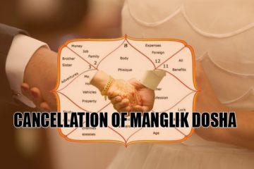 Cancellation of Manglik Dosha