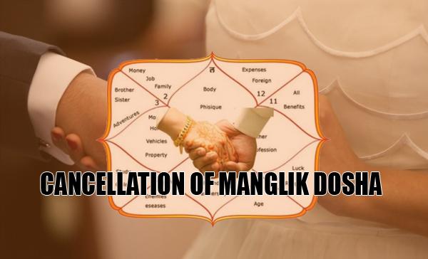 Cancellation of Manglik, Mangal Dosha | Manglik Matrimony