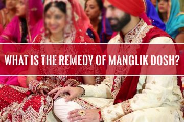 What is the remedy of Manglik dosh?