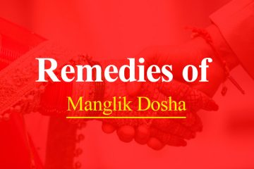 Remedies of Manglik Dosha